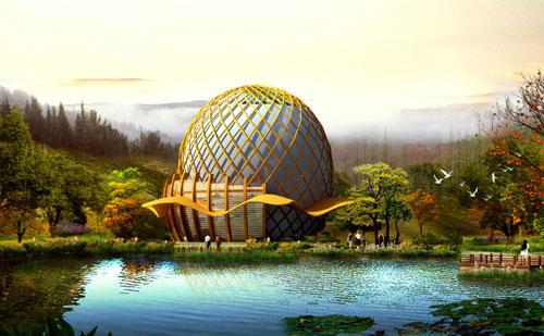 植物园观光温室设计