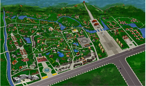 义乌市历史长河景区总体规划