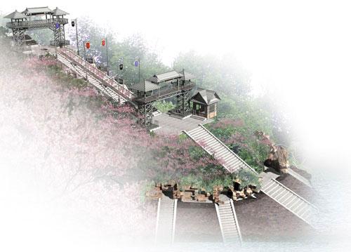 桃花岛景区入口建筑设计